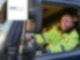 LKW-Fahrer bei ALBA